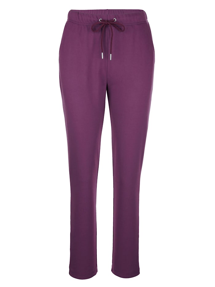 Harmony Pantalon de loisirs en coton confortable, Baies