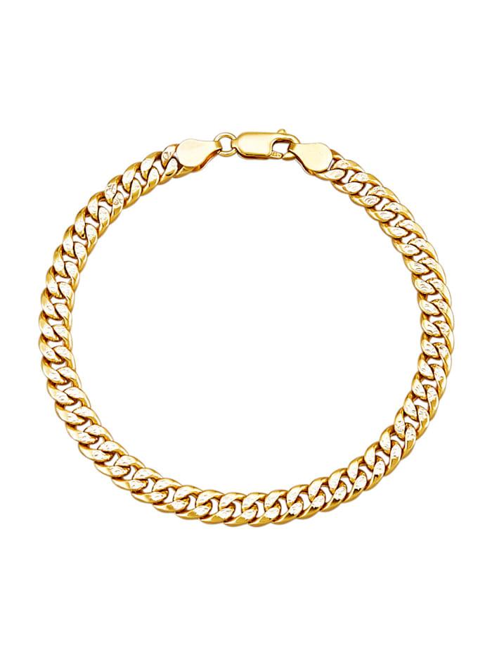 Diemer Gold Gourmettearmband van 14 kt., Geelgoudkleur