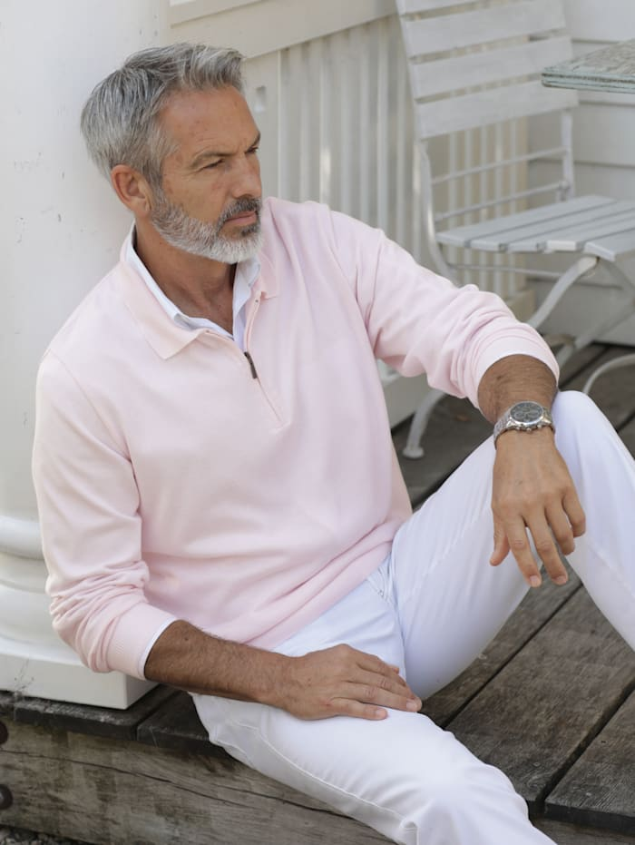 BABISTA Pullover in pflegeleichter Qualität, Rosé