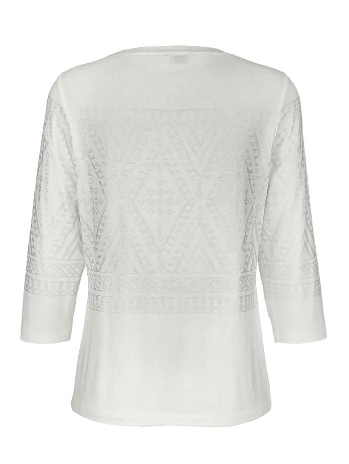 Shirt mit platziertem Norweger-Motiv