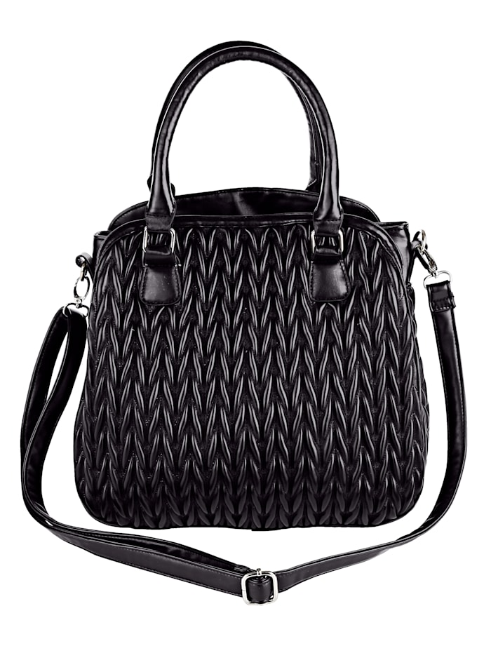 Handbag with elaborateworkmanship