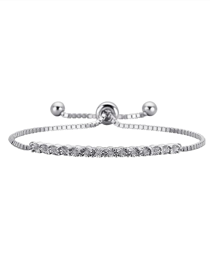 Armband mit Diamant, Transparent