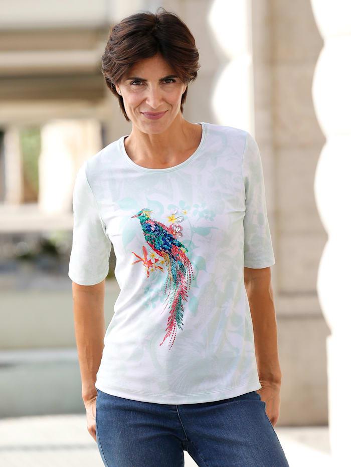 Paola Shirt van RABE, Lichtgroen/Wit