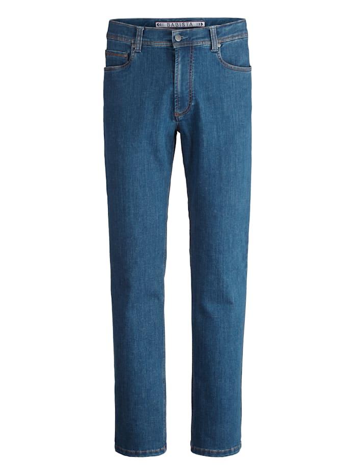 BABISTA Jeans van stevige stof, Lichtblauw