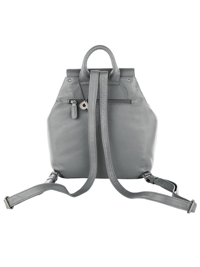 Rucksack aus edlem Leder