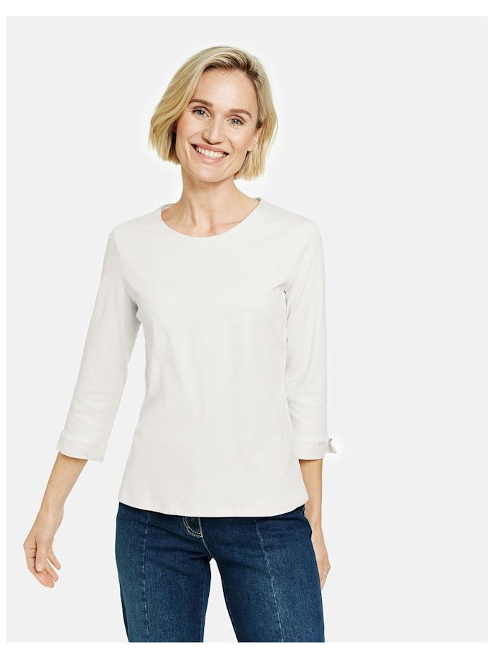 Gerry Weber 3/4 Arm Shirt organic cotton, Light Ivory