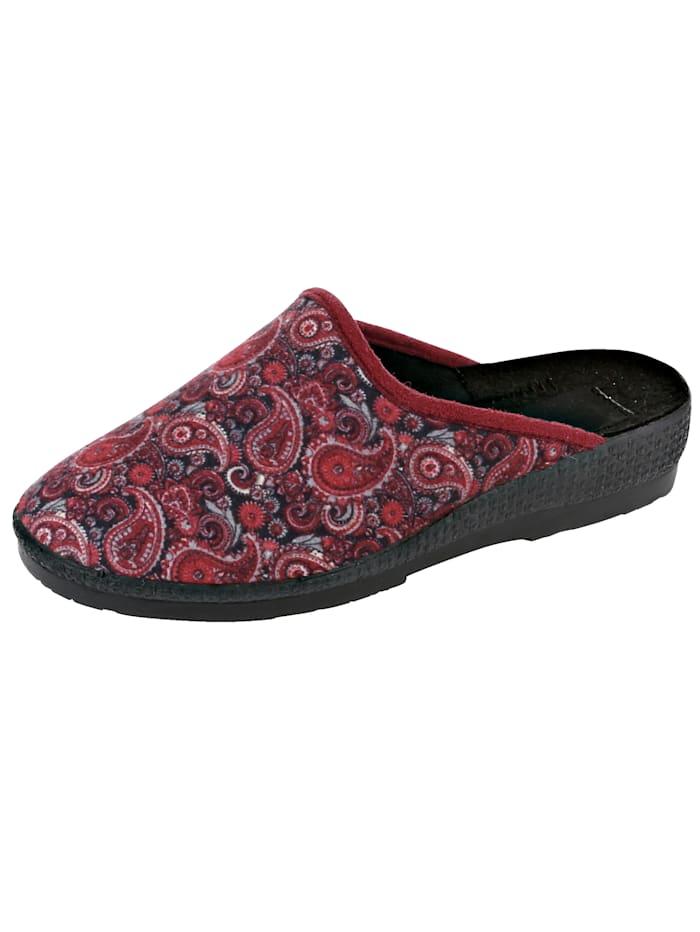 Pantoffels van elastisch materiaal