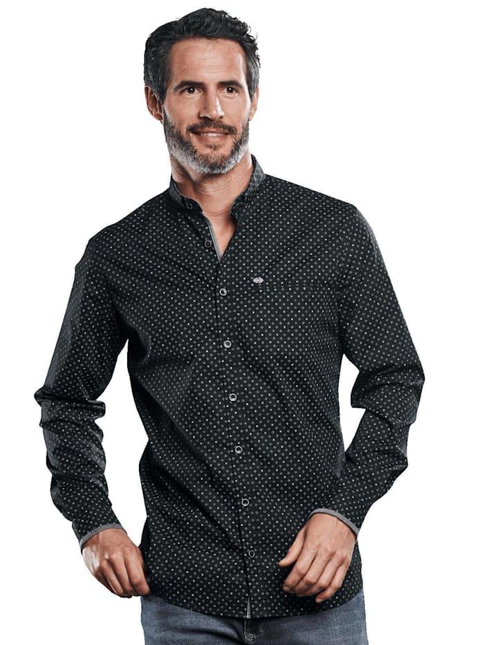 Engbers Festliches Hemd mit Comfort-Stretch-Anteil, Schwarz