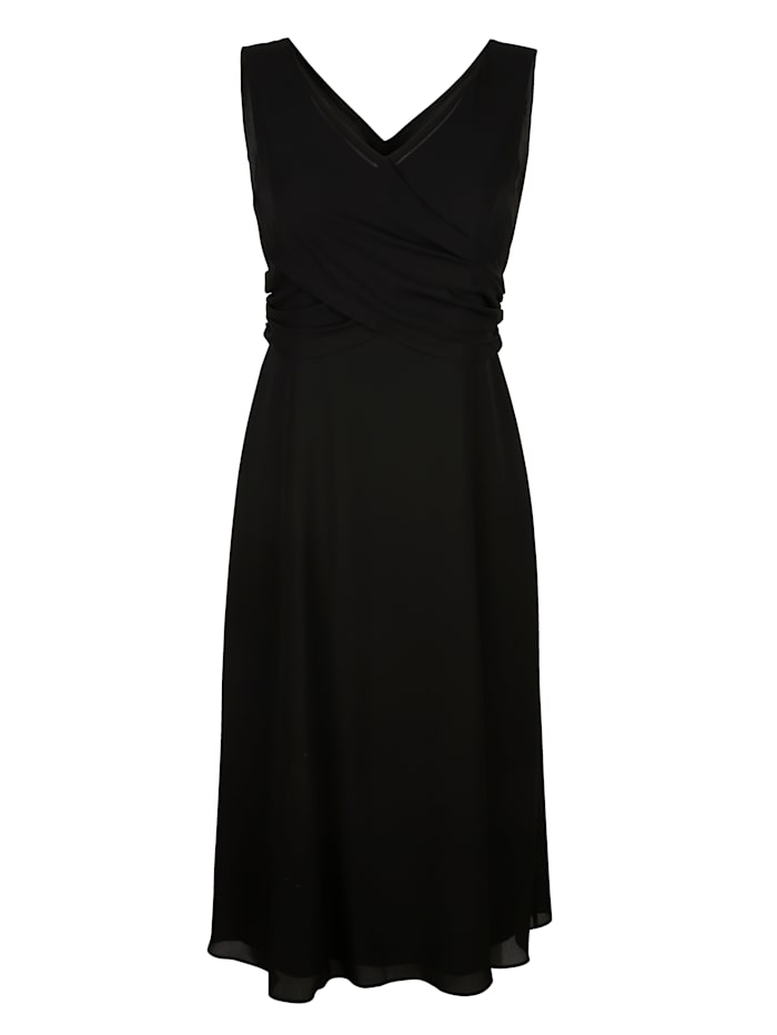 Kleid in eleganter Fein-Crèpe-Qualität