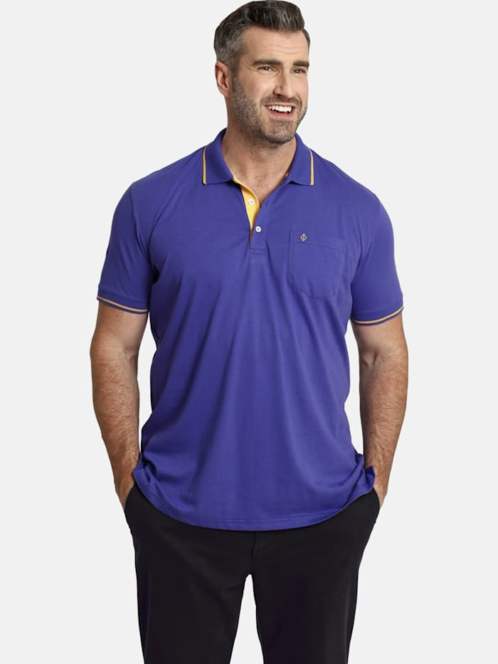 Charles Colby Charles Colby Poloshirt EARL FEN, dunkelrot