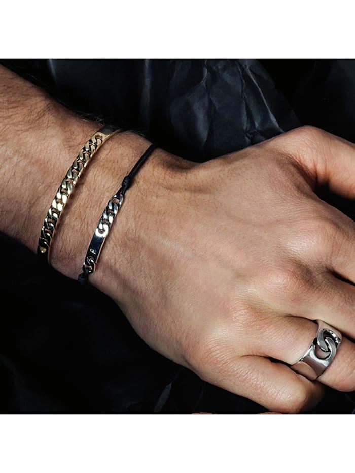 Armband 925/- Sterling Silber ohne Stein 21cm glänzend