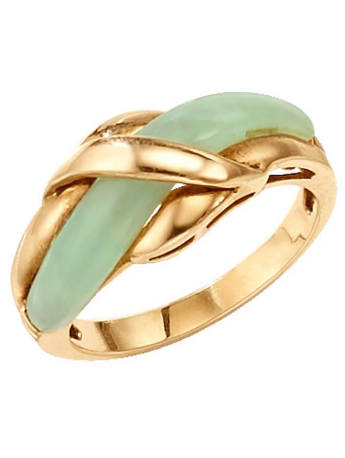 Damenring mit Jade
