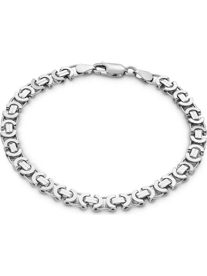 FAVS. FAVS Herren-Herrenarmband 925er Silber, silber