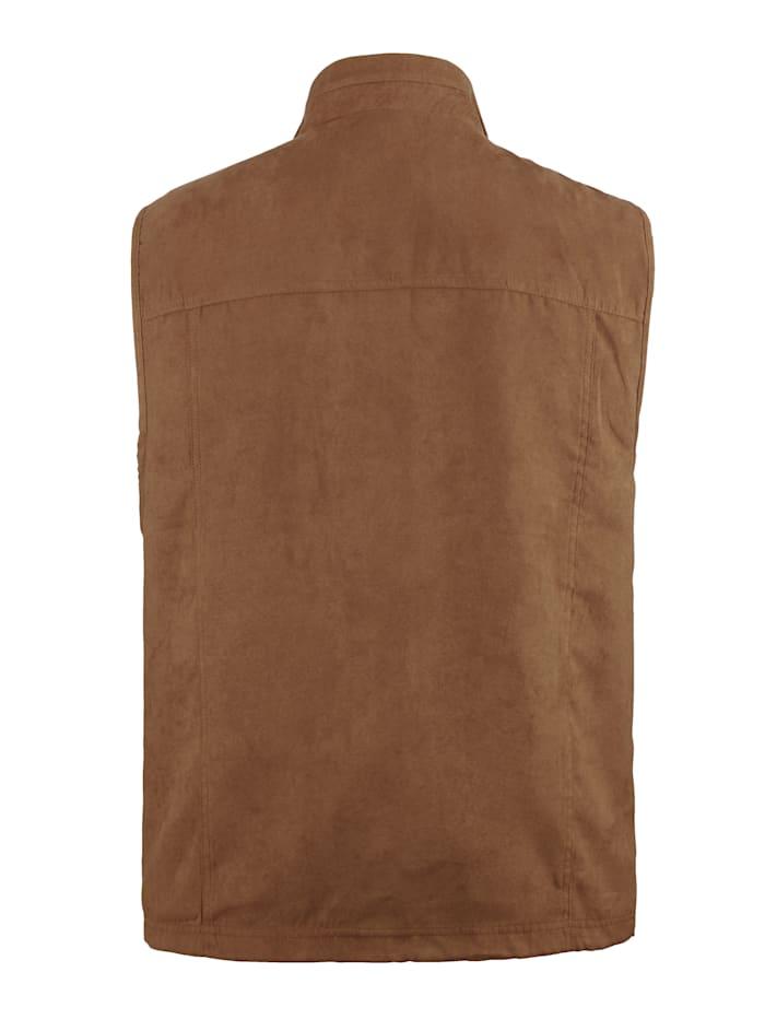 Bodywarmer met veel praktische zakken