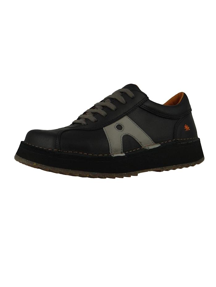 *art Damen Leder Sneaker Orly Black 1600, Black