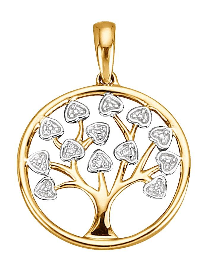 Baum-Anhänger mit Diamant