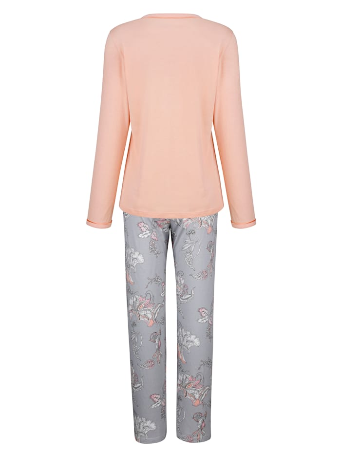 Pyjama met mooie bloemenprint