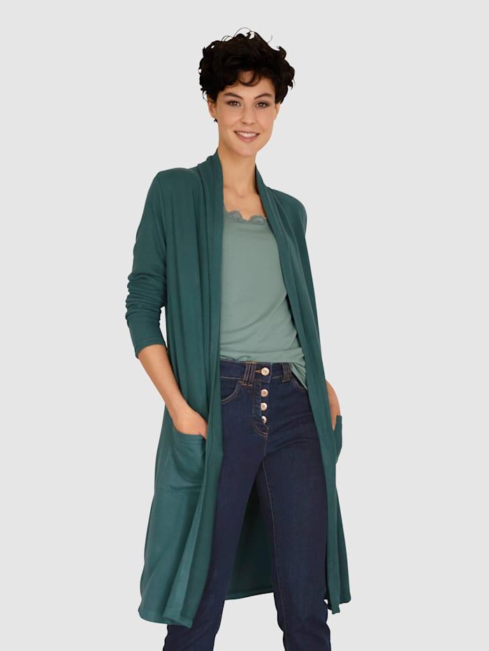 Dress In Shirtjacke mit Taschen, Tannengrün