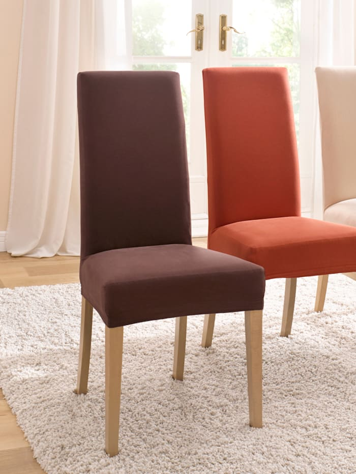 Webschatz Elastische meubelhoezen, bruin