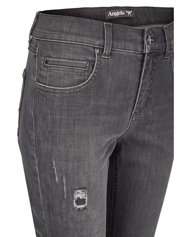 Jeans 'Cici Destroyed Glam' mit modischen Details