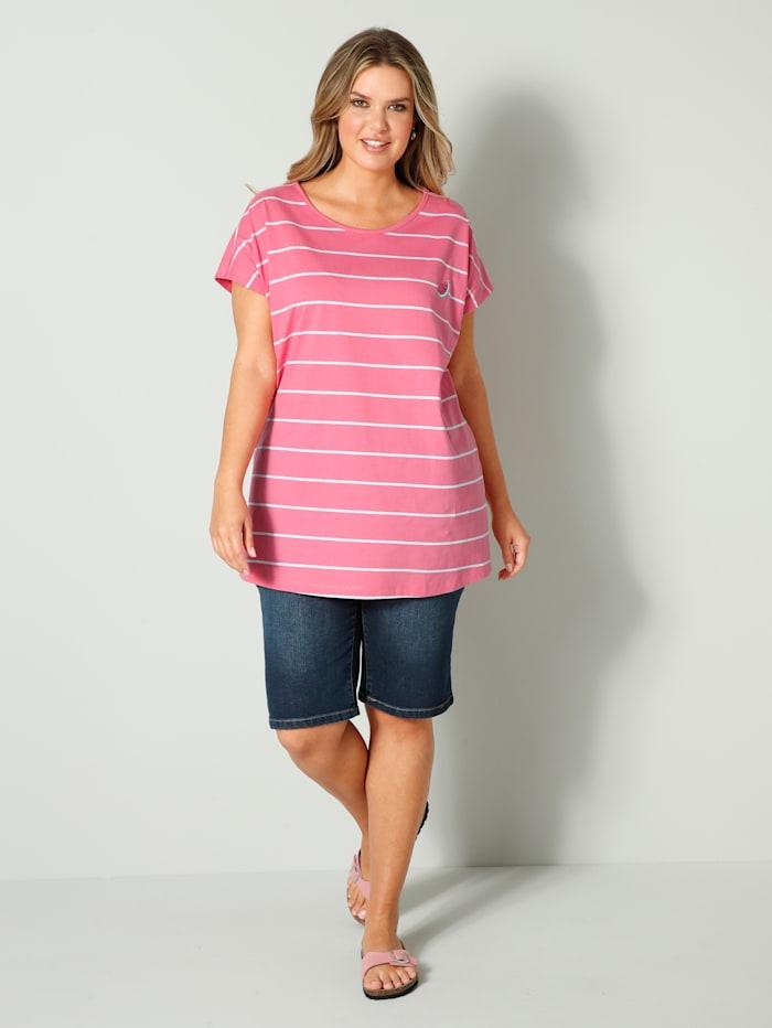 T-shirt à imprimé pastèques