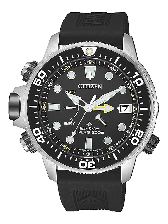 Citizen Herrenuhr Eco-Drive BN2036-14E, Schwarz