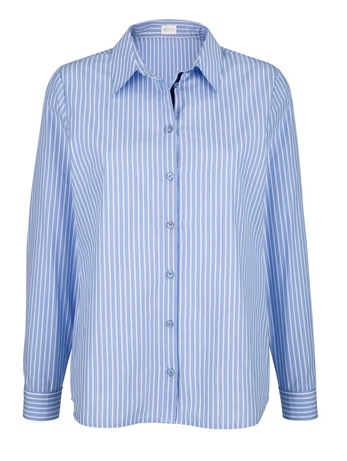 Randig skjorta med ränder