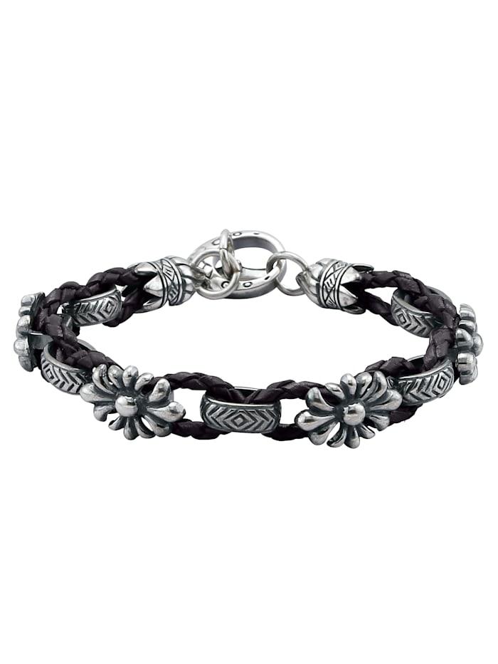 Bracelet cuir tressé 138554912210