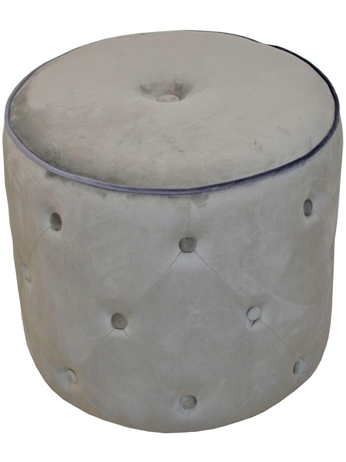 Möbel-Direkt-Online Sitzpouf Madagaskar, grau