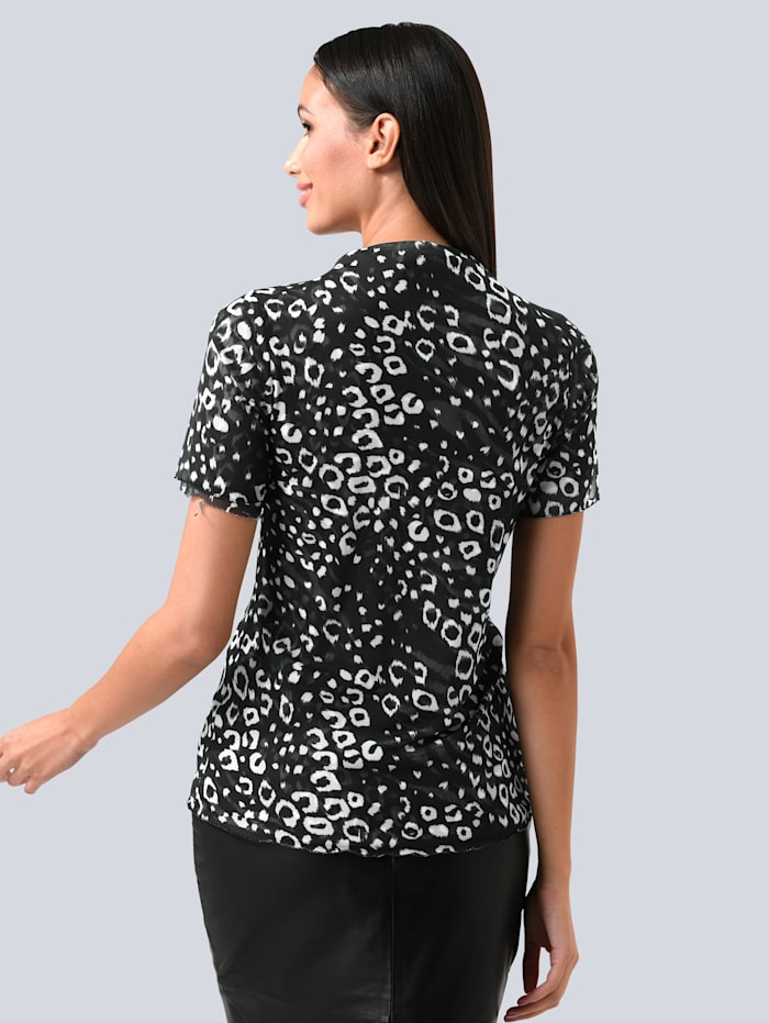 Shirt aus softer Mesh-Ware
