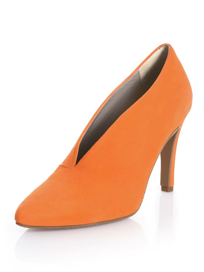 Alba Moda Pumps in trendiger Farbe, Orange