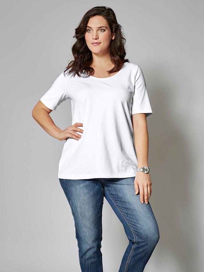 Janet & Joyce Basic shirt, Wit