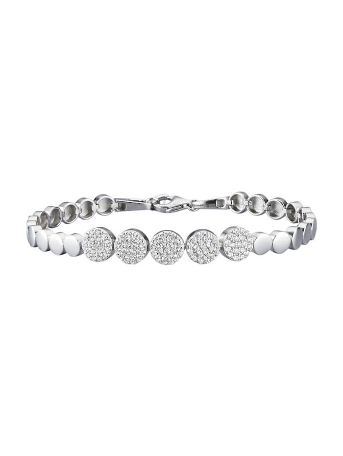 Diemer Trend Armbånd i sølv 925, Sølvfarger