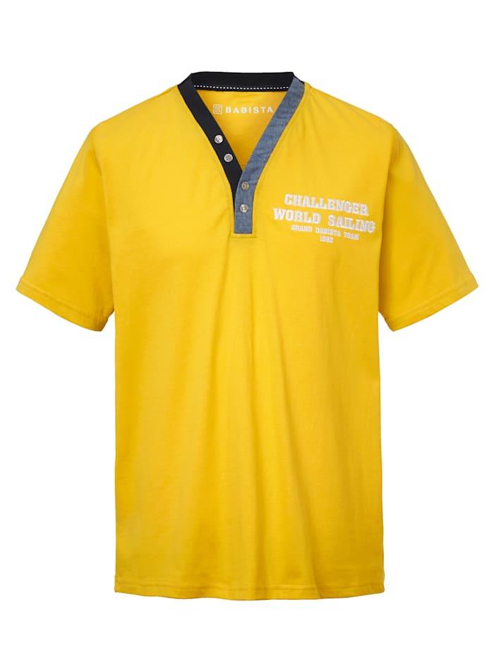 BABISTA Shirt, Geel