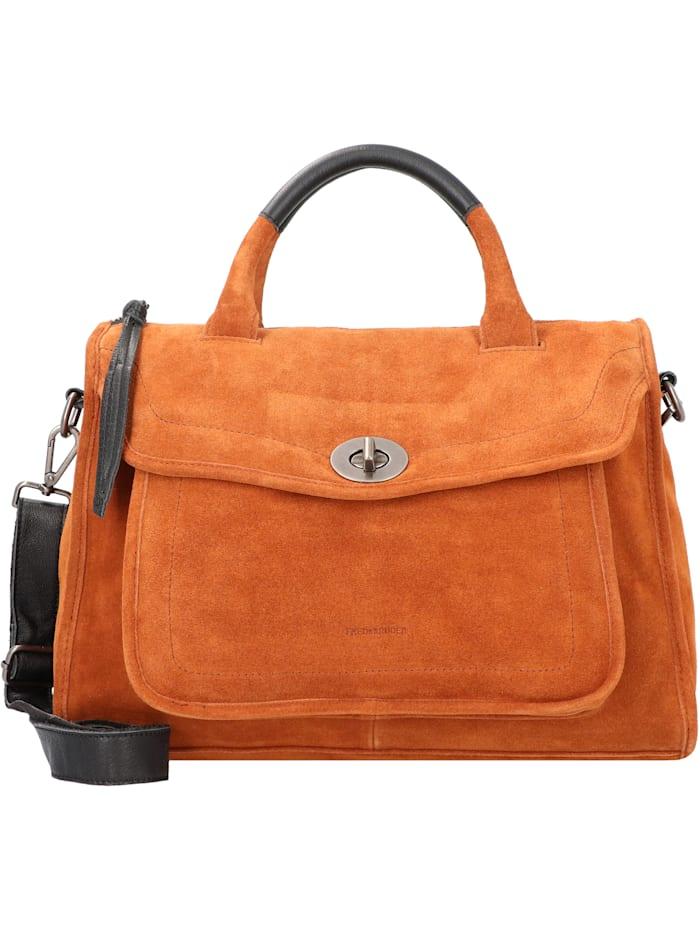 FredsBruder Savage Handtasche Leder 38 cm, caramel