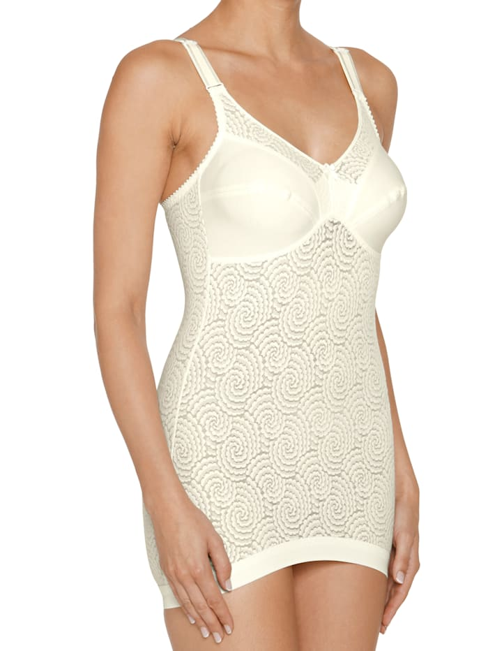 Corselette with shaping effect