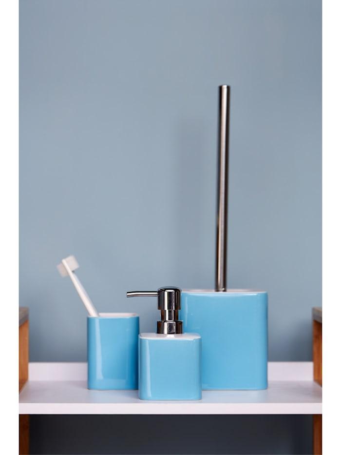 WC-Garnitur Elmo Blau Keramik