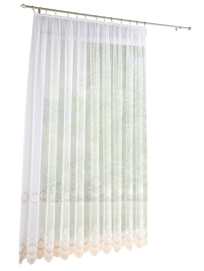 Gardinserie -Hermine-, hvit