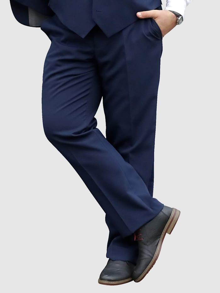 Men Plus Spezialschnitt Anzugshose größenverstellbar, Dunkelblau