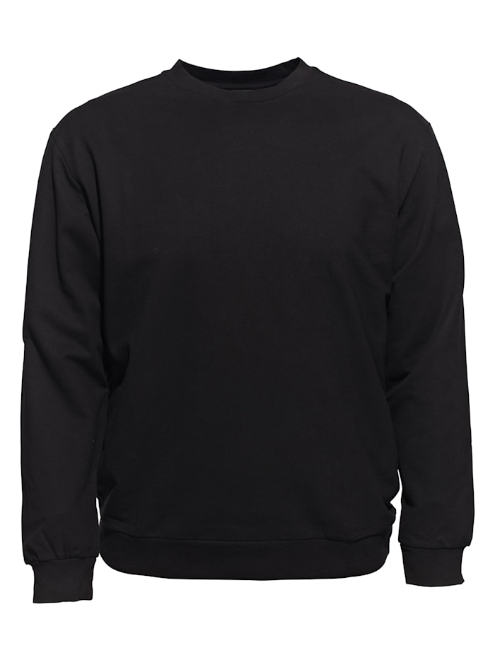 Ahorn Sportswear Sweatshirt im schlichten Design, black