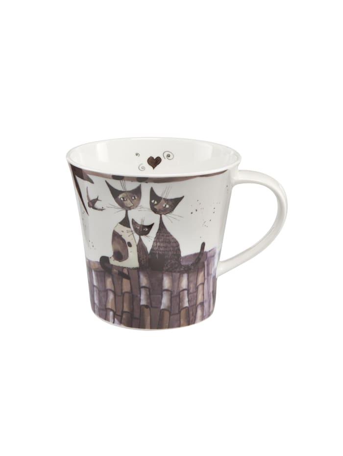 Goebel Goebel Coffee-/Tea Mug Rosina Wachtmeister - Virgola e sua famiglia, Wachtmeister - Virgola e sua famiglia
