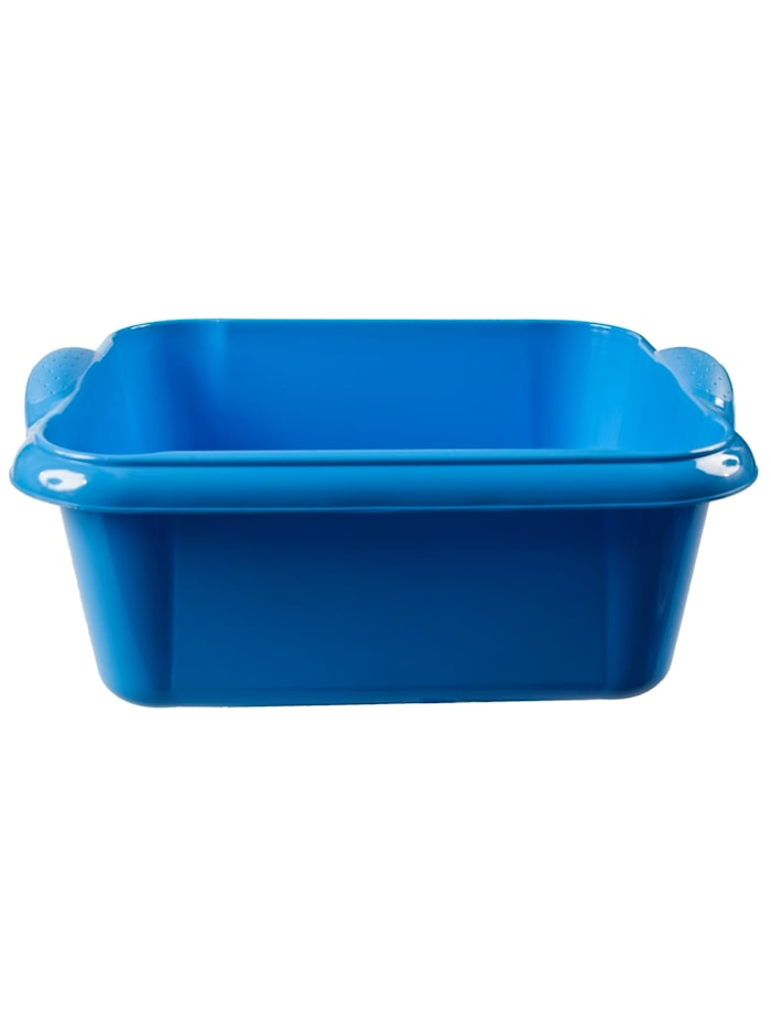 HTI-Living Spülschüssel 10 Liter Quadratisch, Blau