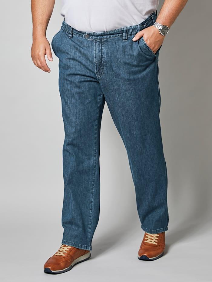 Men Plus Jeans met stretch, Blue stone