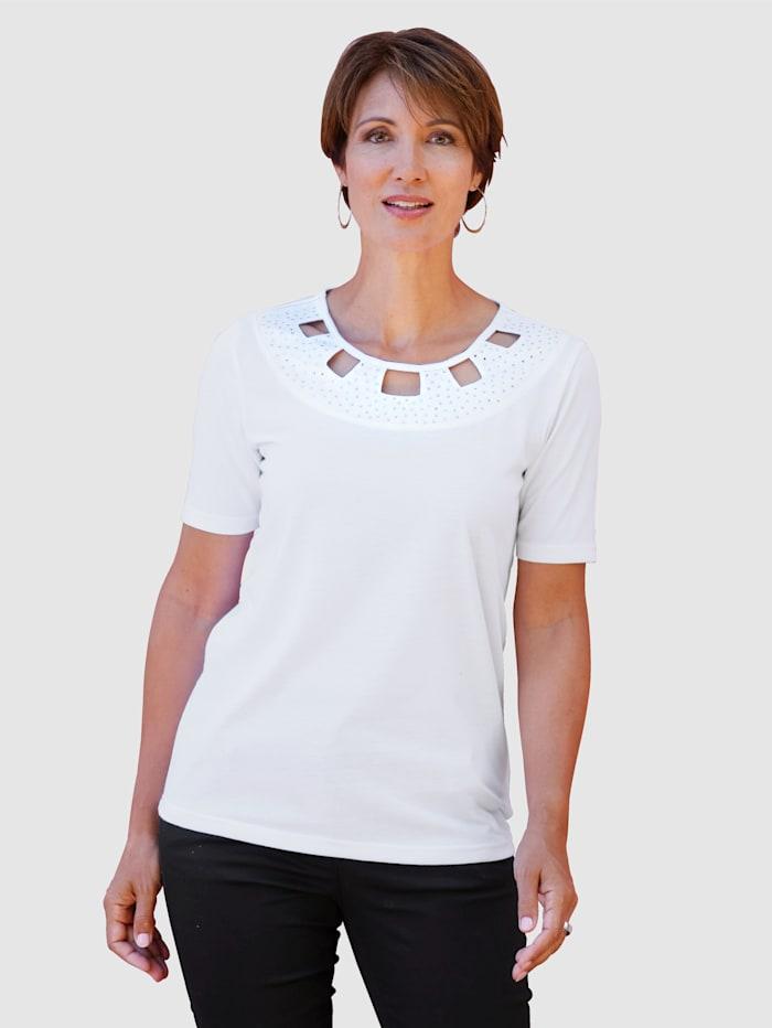 Shirt mit dekorativen Ausschnitt