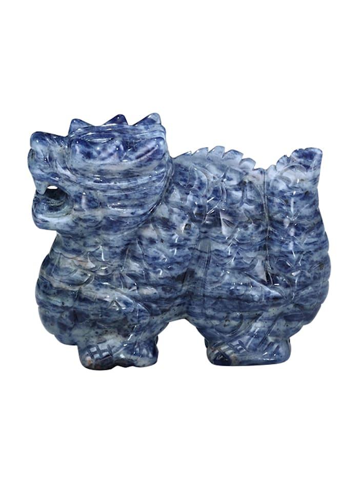 Drachen Figur, Blau