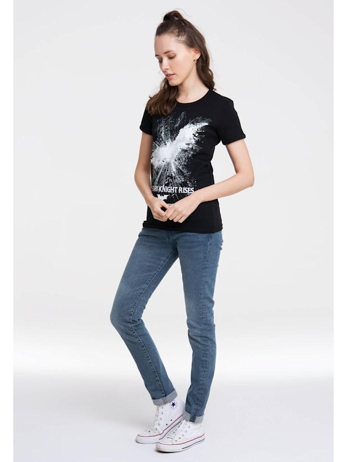 Print T-Shirt Batman – The Dark Knight Rises mit lizenziertem Design
