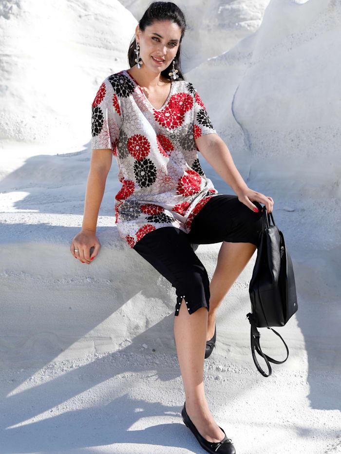MIAMODA Longshirt in toller Farbkombination, Multicolor