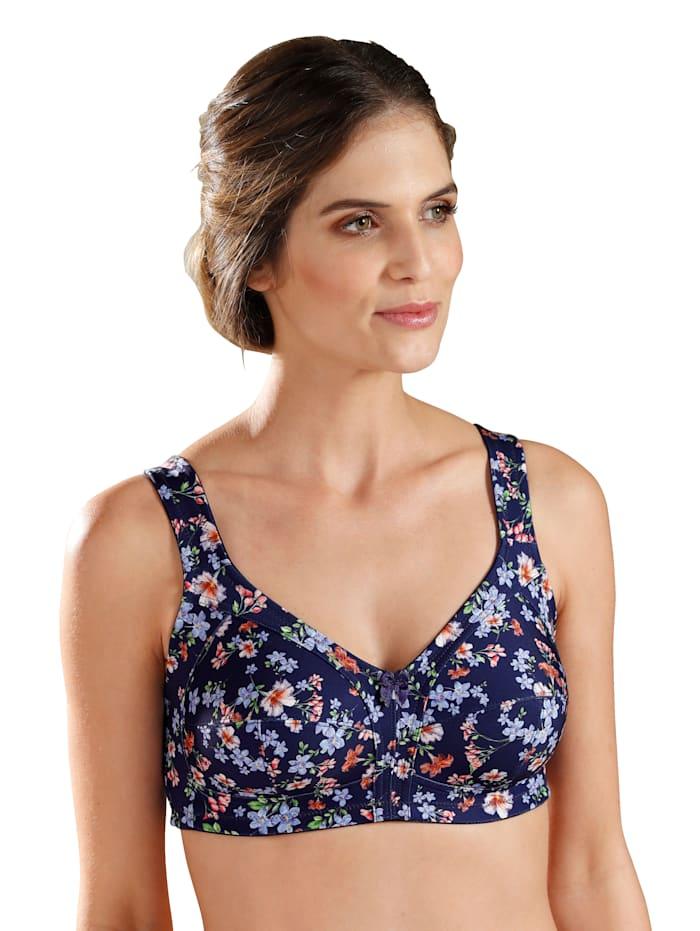 Susa Bh med breda axelband, Midnattsblå