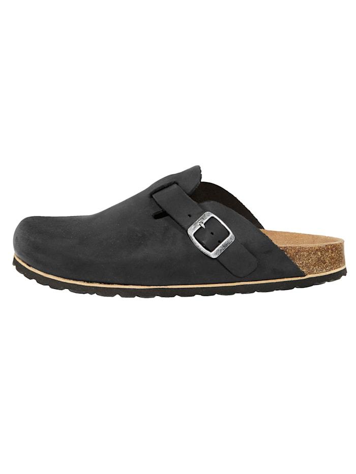 Nazouvací obuv s kůží potaženou korkovou stélkou