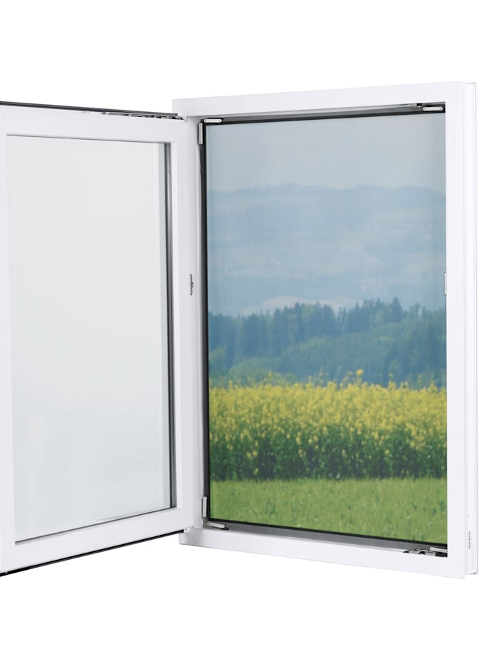 EASYmaxx Fenster-Moskitonetz 'Magic Klick'